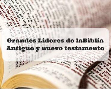 lideres de la biblia